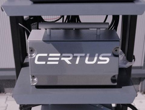 Nowa linia analizatorów spalin CERTUS CET
